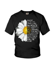 Imagine All The People Living Life In Peace Daisy Youth T-Shirt thumbnail