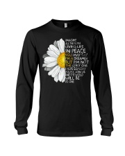 Imagine All The People Living Life In Peace Daisy Long Sleeve Tee thumbnail
