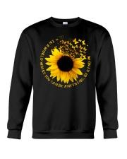 Be Kind Butterflies And Sunflower Crewneck Sweatshirt thumbnail