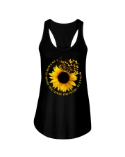 Be Kind Butterflies And Sunflower Ladies Flowy Tank thumbnail