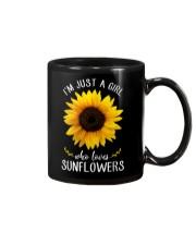 Just A Girl Who Loves Sunflowers Mug thumbnail