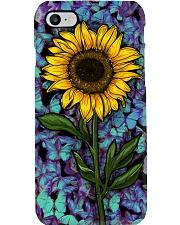 Sunflower Butterflies Phone Case i-phone-7-case