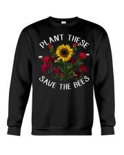 Plant These Save The Bees Crewneck Sweatshirt thumbnail