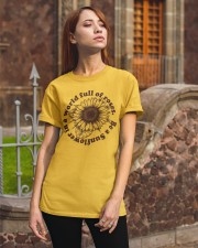 Be A Sunflower In A World Full Of Roses Classic T-Shirt apparel-classic-tshirt-lifestyle-06