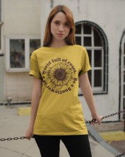 Be A Sunflower In A World Full Of Roses Classic T-Shirt apparel-classic-tshirt-lifestyle-19