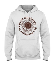 Be A Sunflower In A World Full Of Roses Hooded Sweatshirt thumbnail