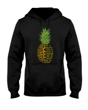 Be A Pineapple Hooded Sweatshirt thumbnail