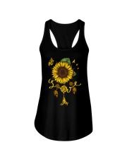 Love Sunflower Dreamcatcher Ladies Flowy Tank thumbnail