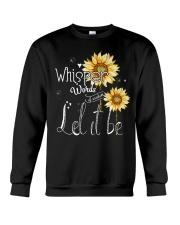 Whisper Words Of Wisdom Let It Be Crewneck Sweatshirt thumbnail