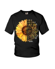 She Is Life Itself Wild And Wonderfully Youth T-Shirt thumbnail