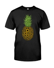 Sunflowers Pineapple Classic T-Shirt front