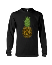 Sunflowers Pineapple Long Sleeve Tee thumbnail