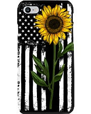 American Flag Sunflower Hippie Distressed Phone Case thumbnail
