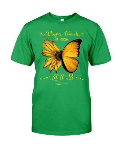 Whisper Words Of Wisdom Let It Be Sunflower