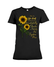 She Is Life Itself Sunflower Premium Fit Ladies Tee thumbnail