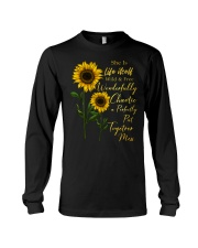 She Is Life Itself Sunflower Long Sleeve Tee thumbnail