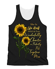 She Is Life Itself Sunflower All-over Unisex Tank thumbnail