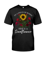 She's A Sunflower Classic T-Shirt front