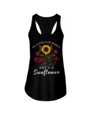 She's A Sunflower Ladies Flowy Tank thumbnail