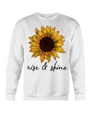 Rise And Shine Sunflower Crewneck Sweatshirt thumbnail