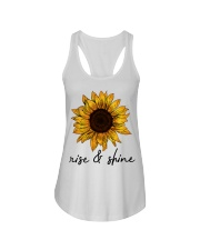 Rise And Shine Sunflower Ladies Flowy Tank thumbnail