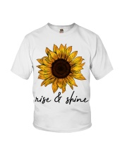 Rise And Shine Sunflower Youth T-Shirt thumbnail