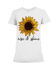 Rise And Shine Sunflower Premium Fit Ladies Tee thumbnail