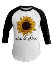 Rise And Shine Sunflower Baseball Tee thumbnail