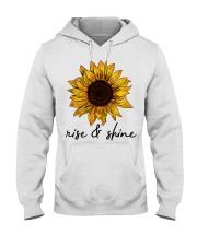 Rise And Shine Sunflower Hooded Sweatshirt thumbnail