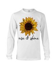 Rise And Shine Sunflower Long Sleeve Tee thumbnail