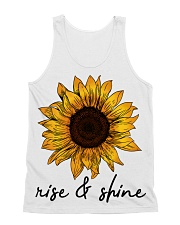 Rise And Shine Sunflower All-over Unisex Tank thumbnail