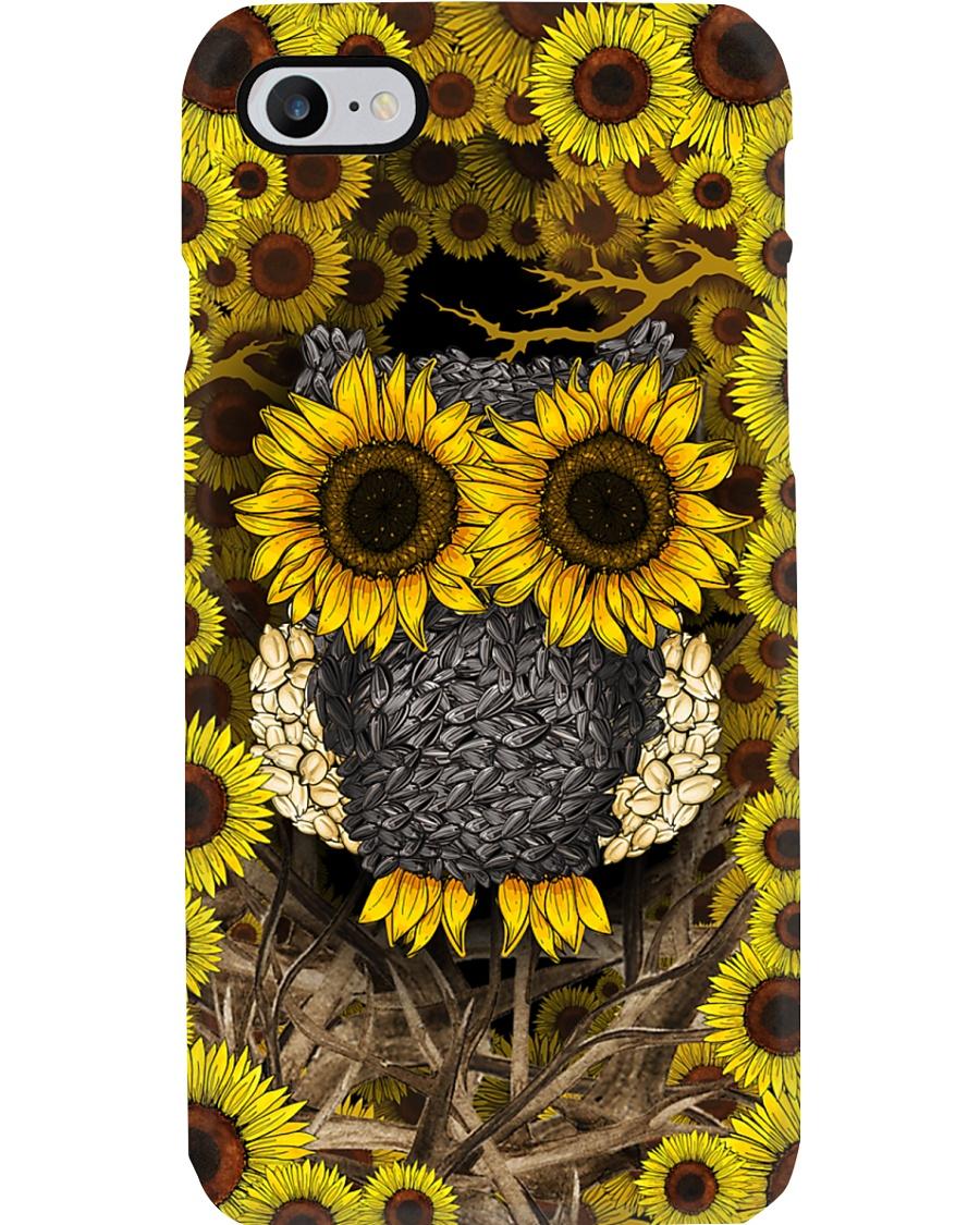 Sunflower Owl Phone Case