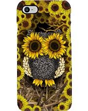 Sunflower Owl Phone Case i-phone-7-case