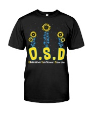 Obsessive Sunflower Disorder Classic T-Shirt front