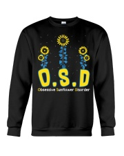 Obsessive Sunflower Disorder Crewneck Sweatshirt thumbnail