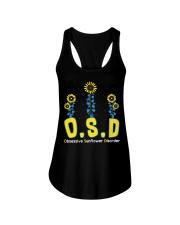 Obsessive Sunflower Disorder Ladies Flowy Tank thumbnail