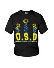 Obsessive Sunflower Disorder Youth T-Shirt thumbnail