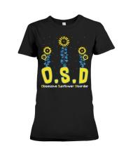 Obsessive Sunflower Disorder Premium Fit Ladies Tee thumbnail
