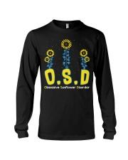 Obsessive Sunflower Disorder Long Sleeve Tee thumbnail