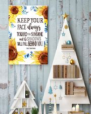 Keep Your Face Alwasy Toward The Sunshine 11x17 Poster lifestyle-holiday-poster-2