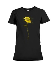 You Are My Sunshine Sunflower Premium Fit Ladies Tee thumbnail
