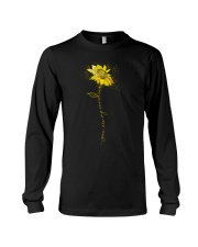 You Are My Sunshine Sunflower Long Sleeve Tee thumbnail