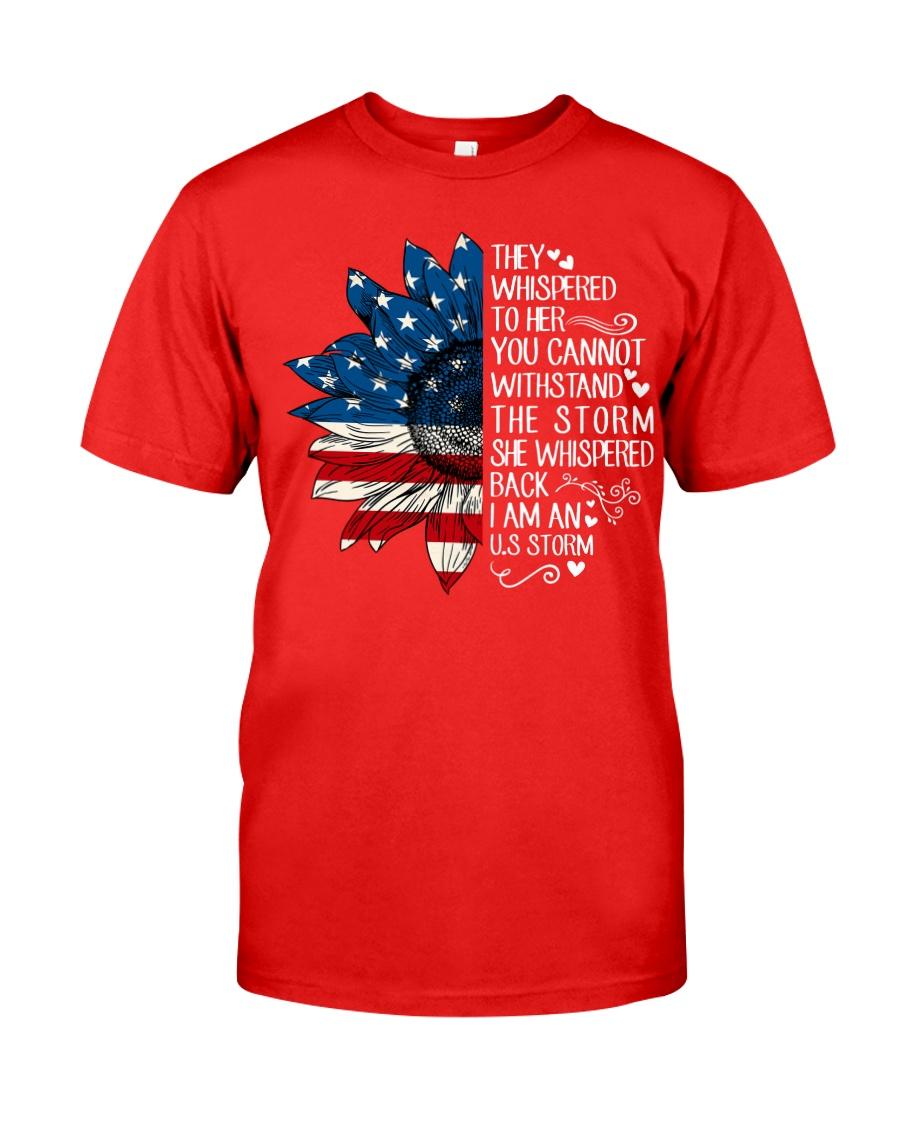 I Am An US Storm Classic T-Shirt
