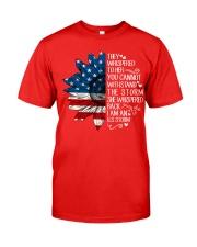 I Am An US Storm Classic T-Shirt front