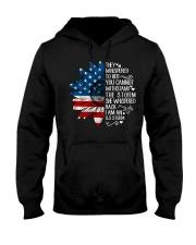 I Am An US Storm Hooded Sweatshirt thumbnail