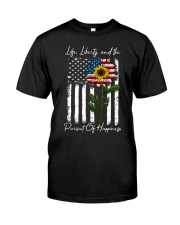Life Liberty And The Pursuit Of Happiness Classic T-Shirt front