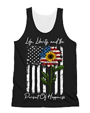Life Liberty And The Pursuit Of Happiness All-over Unisex Tank thumbnail