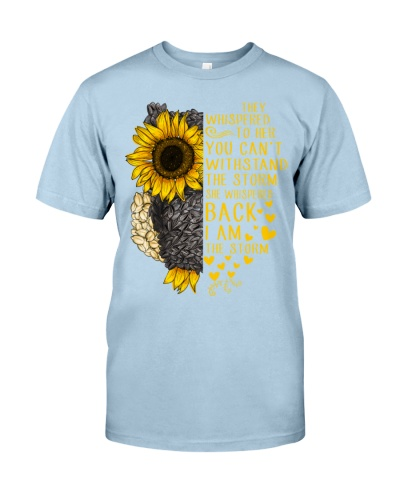 I Am The Storm Sunflower Owl