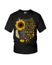 I Am The Storm Sunflower Owl Youth T-Shirt thumbnail