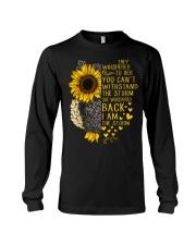 I Am The Storm Sunflower Owl Long Sleeve Tee thumbnail